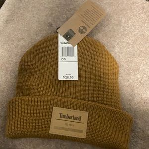 $2/20 NWT Brown Knit Timberland Hat